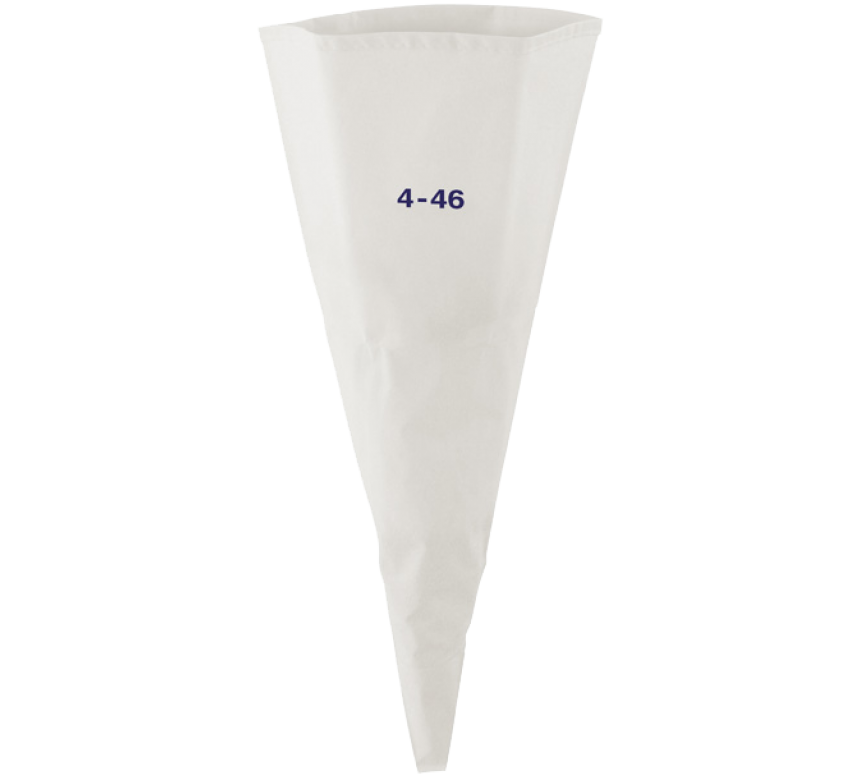 Sprøjteposer, bomuld, 46 cm, 2 stk.
