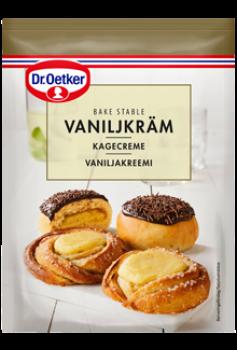 Dr. Oetker BagestabilKagecremeer en lækker kagecreme medBourbon-vanilje