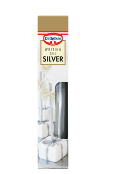 Writing Gel Silver, Dr. Oetker-20