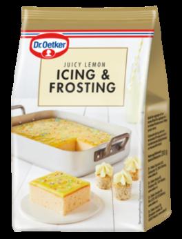 Icing & Frosting, Juicy Lemon. Dr. Oetker