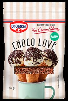 Choco Love is krymmel. Dr. Oetker