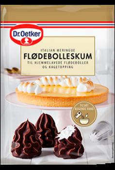 Flødebolleskum, Dr. Oetker