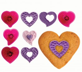 Fantasy Hearts Set of 4-20