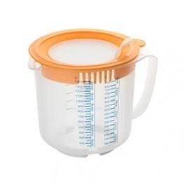 Måle og røreskål med låg, 1,4 liter, Dr. Oetker-20