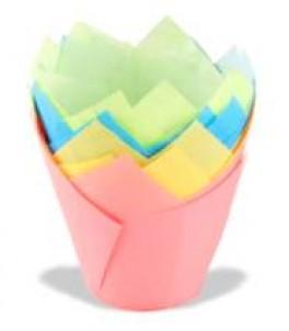 Tulipan papirforme, 20 stk, Dr. Oetker-20