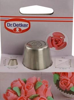 """Tylle """"Rose"""" med 4 stk. engangs-sprøjteposer. Dr. Oetker-20"""