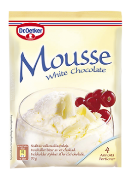 Dr. Oetker Mousse White Chocolate*-20