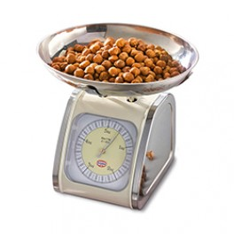 Bagevægt retro med vægtskål, analog, Dr. Oetker-20