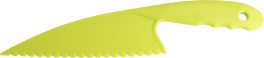 Salat og grøntsagskniv, lime-20