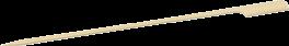 Sticks til fingermadder, 25 cm, 50 stk.-20