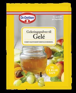 Geleringspulver til Gelé, Dr. Oetker.-20