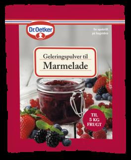 Geleringspulver til Marmelade, 20 g, Dr. Oetker.-20