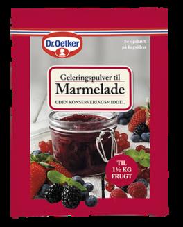Geleringspulver til Marmelade uden konserveringsmiddel, Dr. Oetker-20