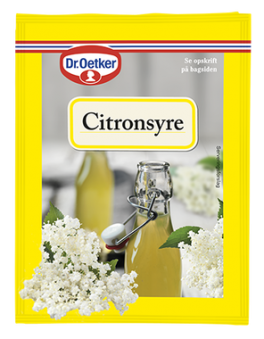 Citronsyre, Dr. Oetker-20