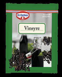 Vinsyre, Dr. Oetker-20