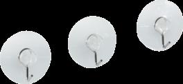 Kroge med sugekop, 3 stk., PROBUS-20