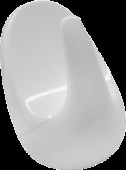 Kroge, multifunktion, 2. stk., hvid, PROBUS-20