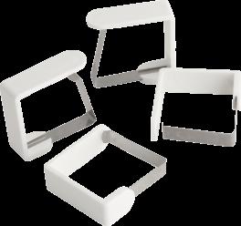 Dugholder, hvid, 4 stk., PROBUS-20