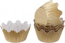 Muffinsforme Guld Ø 5 cm, Dr. Oetker-20