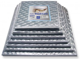 Kageæske og kagepap, 25,4 x 25,4 cm, PME