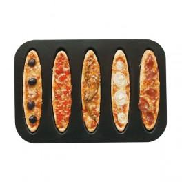 Bageplade til 5 stk tærter, brød eller pizzaer, Zenker-20
