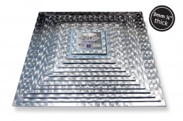 Kagepap kvadratisk 25,4 x 25,4 cm PME-20