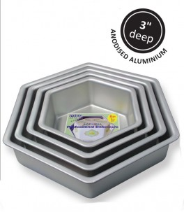 Kageform 20,32 cm, sekskantet, PME-20