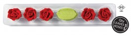 5 røde roser og blade-20