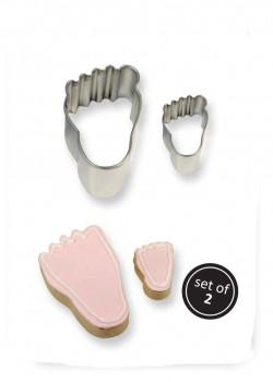 Kageudstikker, fødder, 2 stk., PME-20