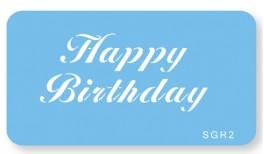 Skabelon, motiv, Happy Birthday.-20
