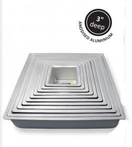 Kageform dyb 38,1 x 38,1 cm, kvadratisk, PME-20