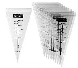 Sprøjtepose engangs til chokolade 10 stk. 15 cm x 30 cm Zenker-20