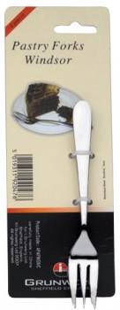 Kagegafler 4 stk, 15 cm, Windsor, rustfrit stål-20