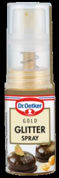 Gold glitter spray 4 g Dr. Oetker-20