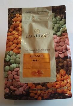 Chokolade, Orange Callets, Callebaut, 500g