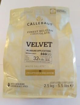 Chokolade, Velvet Callets, Callebaut, 500g