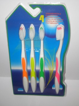 Tandbørste sæt med 4 stk.-20