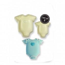 JEM Easy Pops - Baby Bodystocking (Sæt/2)