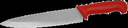 Kokkekniv, rød, HACCP-20