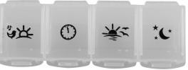 Pille boks/dispenser uge. Fackelmann