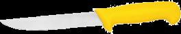 Udbenerkniv, gul, HACCP-20