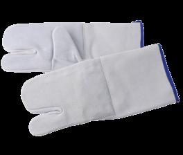 Varmehandske med 3-fingergreb, 2 stk., lysegrå-20