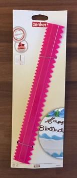 Dekorationslineal, Hot Pink, 30 cm.-20