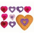 Fantasy Hearts - Set of 4