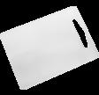 Skærebræt, 34 x 24 cm, hvid, LLDPE