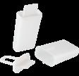 Lav-selv ispindesæt, 2 stk., hvid, PROBUS