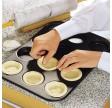 Bageplade til 12 stk petittærter, Zenker