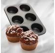 Muffinplade, 6 huller, mega, Zenker