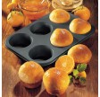 Muffinplade, 6 huller, Zenker