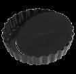 Tærtefad, Ø 9 cm, sort